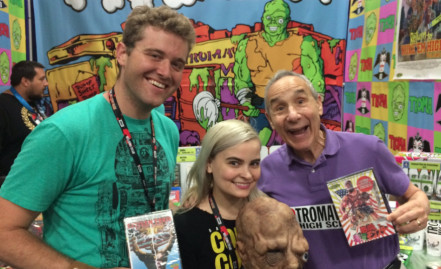 and we became best friends with Lloyd Kaufman