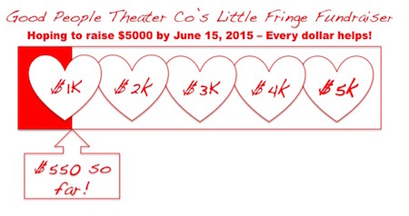 Fringe Fundraiser - putting the Heart in our Art