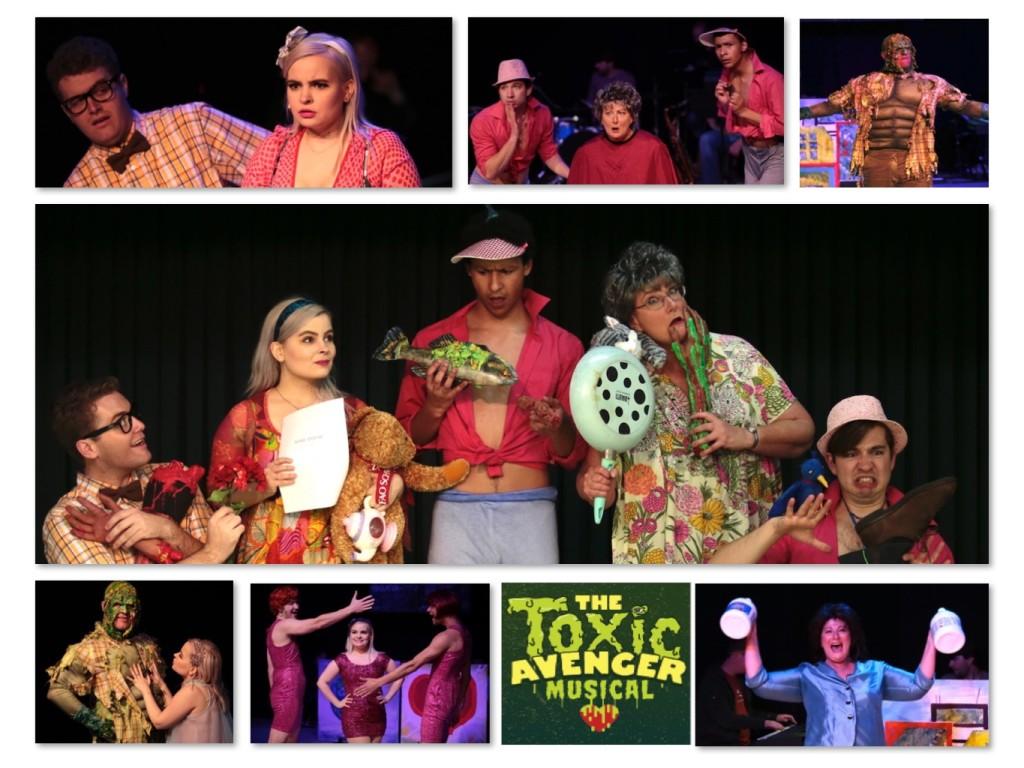 Toxic Stills Collage