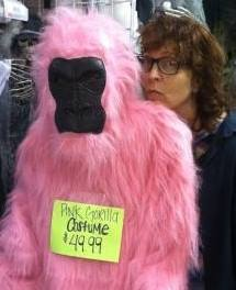 Janet and Pink Gorilla